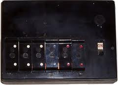 Old fuseboard
