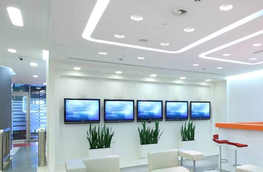 LED Office lighting Grays