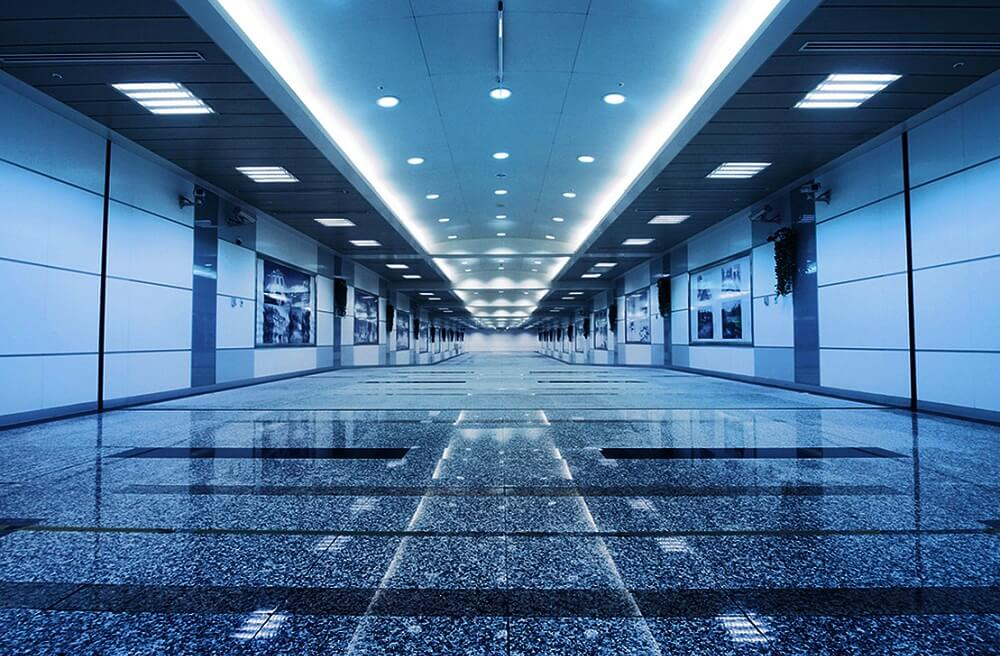 Office LED lighting services in Tilbury, Essex